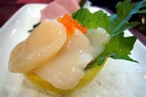 Japanese Scallops (Hotate) Sashimi Image