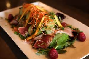 Mango Seared Tuna Salad Image