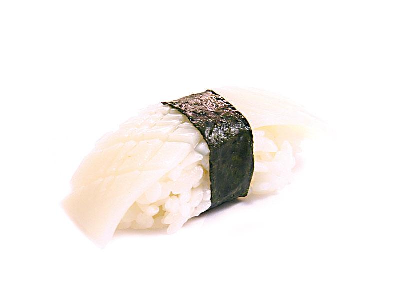 Squid (Ika) Nigiri Image