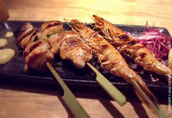 Chicken Robata Skewers(3 skewers)
