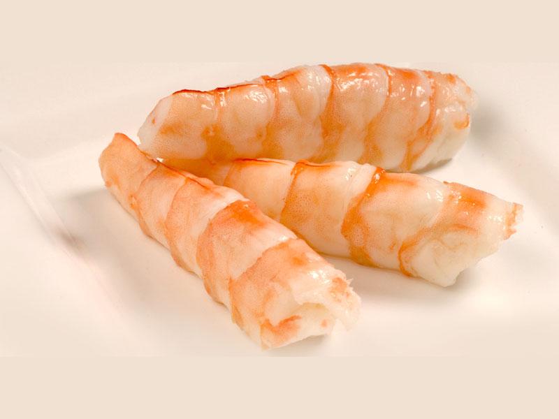 Shrimp (*Ebi) Sashimi