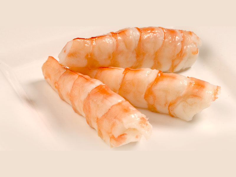 Shrimp (*Ebi) Sashimi Image