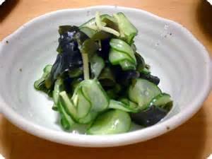 """Sunomono """"Cucumber"""" Salad"""