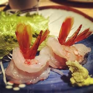 Sweet Shrimp (Ama - Ebi) Sashimi