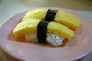 Japanese Omelet (Tamago) Nigiri Image