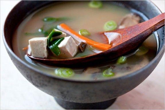 Mushroom Miso Soup Image