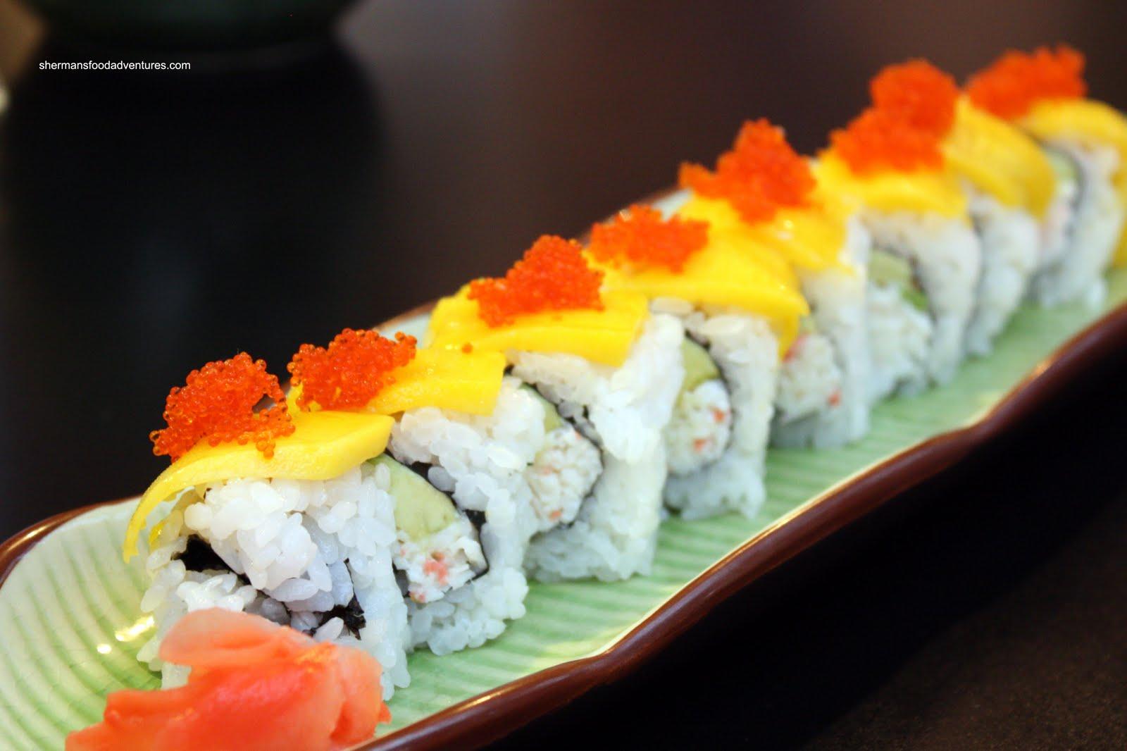 Hamach Mango Roll
