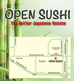 Open Sushi - Jacksonville