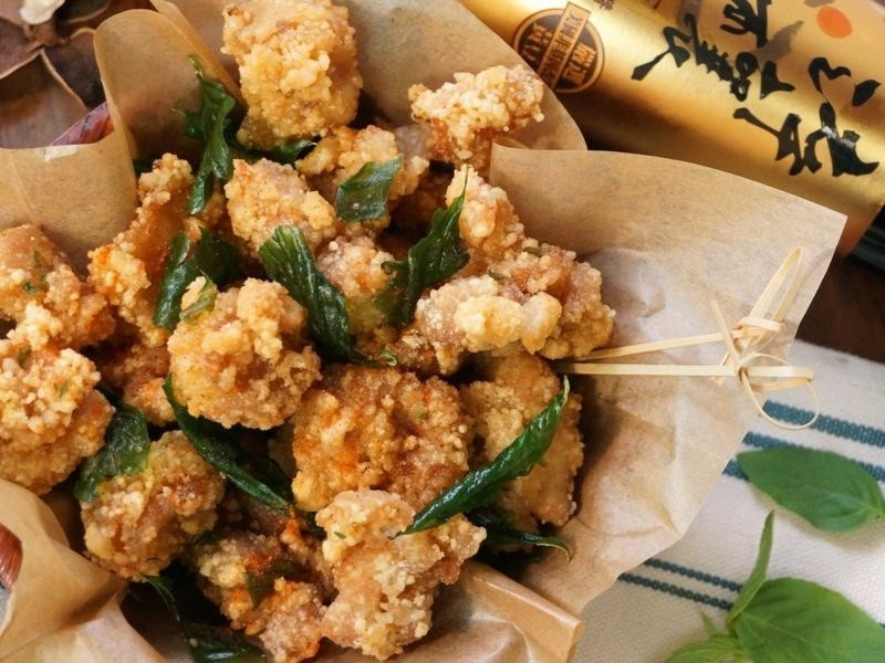 Taiwanese Popcorn Chicken 盐酥鸡