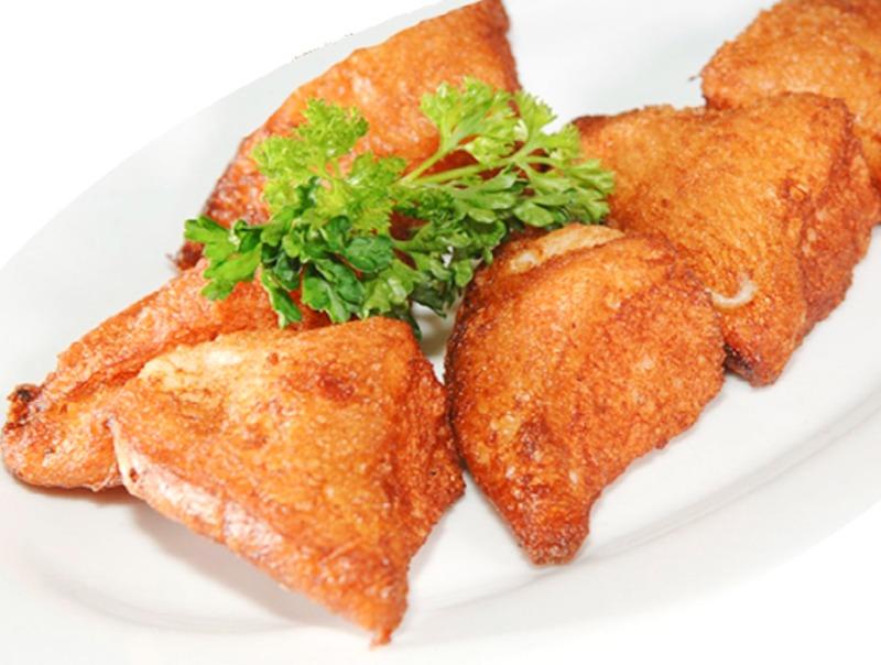7. Shrimp Toast (4) 虾吞司
