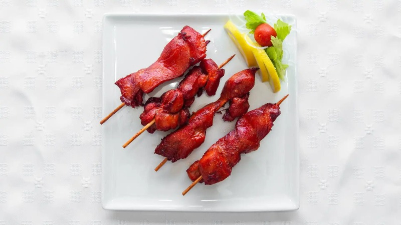 12. Chicken on Stick (4) 鸡串