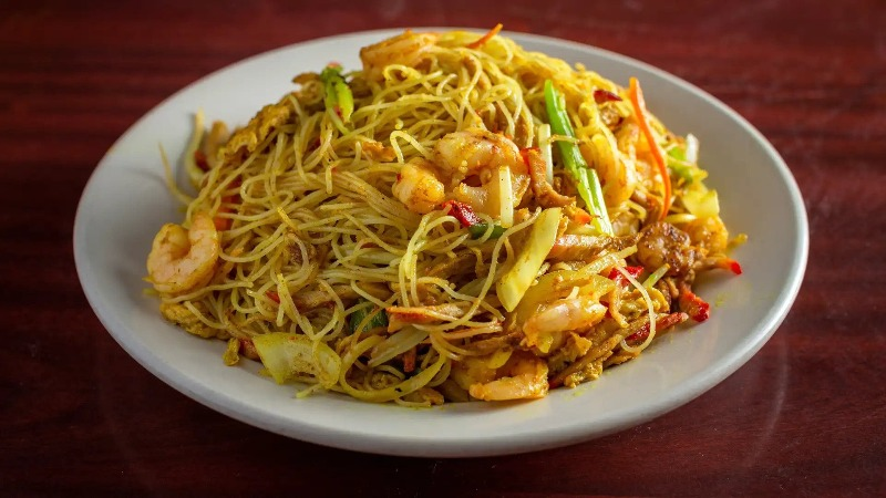 78. Singapore Chow Mei Fun 新加坡炒米粉