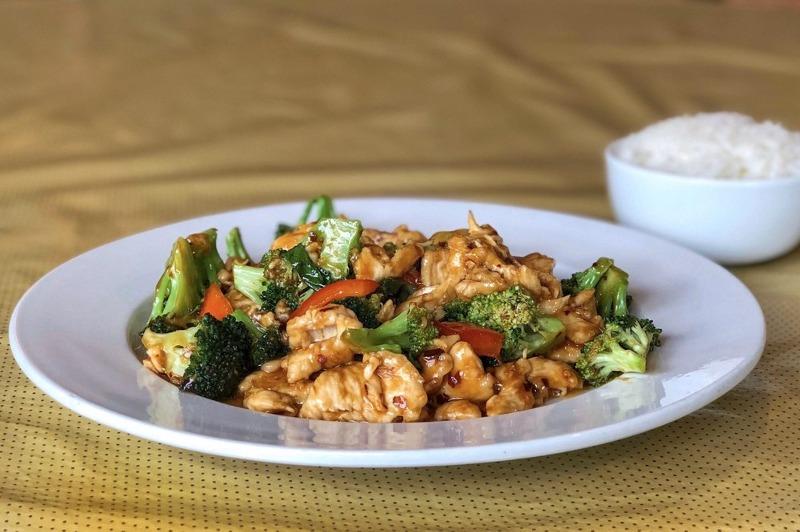 91. Chicken w. Garlic Sauce 鱼香鸡