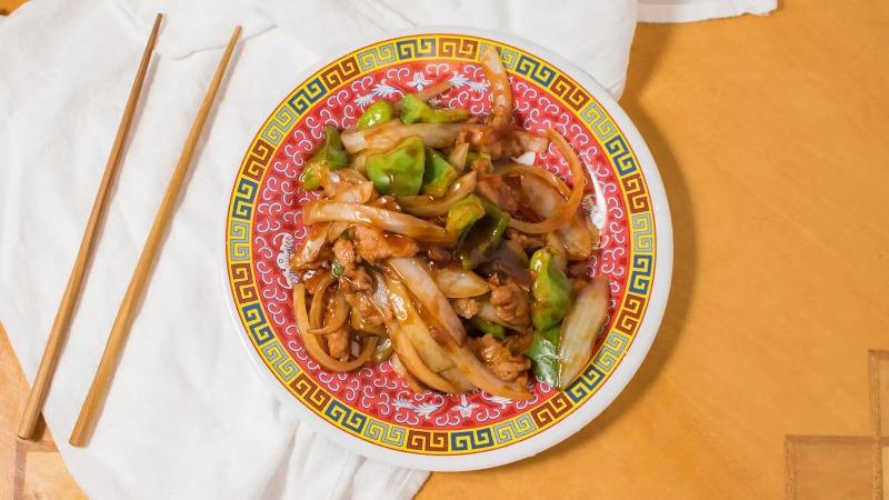 99. Pepper Steak w. Onion 青椒牛 Image