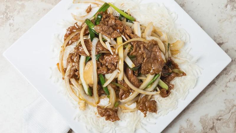 107. Mongolian Beef 蒙古牛