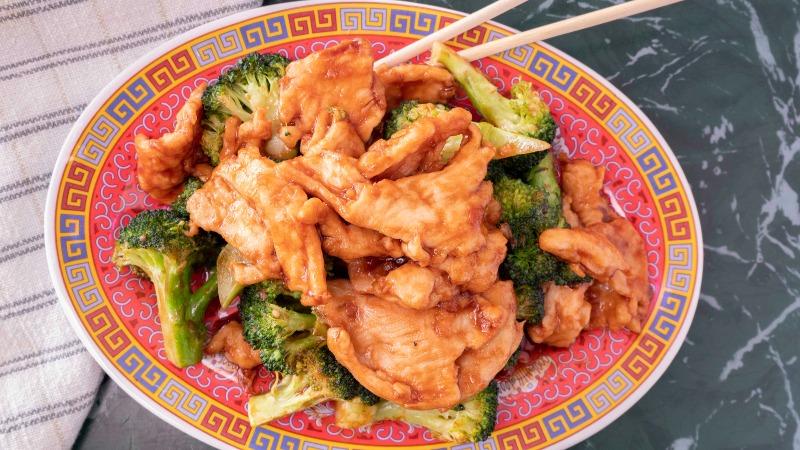 80. Chicken w. Broccoli 芥兰鸡