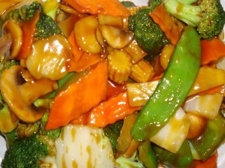 63. Mixed Chinese Vegetable 素什锦