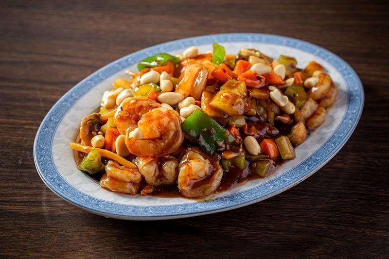 131. Shrimp w. Cashew Nut (Baby Shrimp) 腰果虾 Image