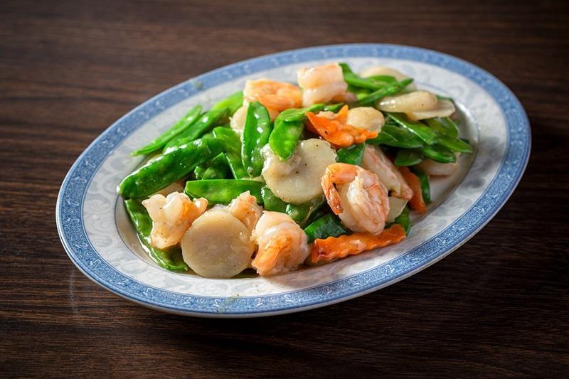 125. Shrimp w. Snow Peas 雪豆虾 Image