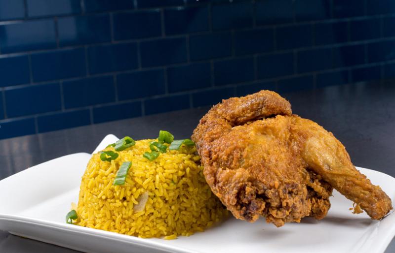 S 4. Fried Half Chicken 炸半鸡