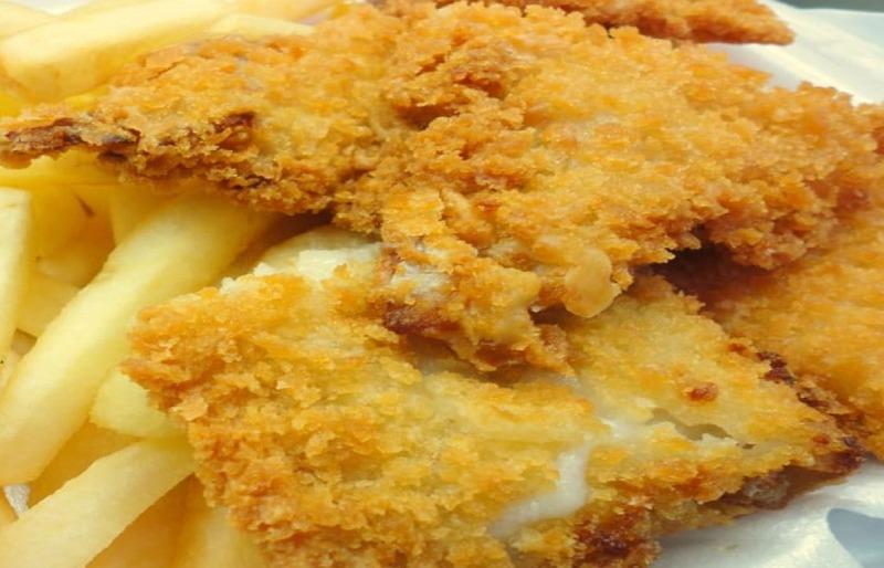 S 6. Fried Fish (2) 炸鱼