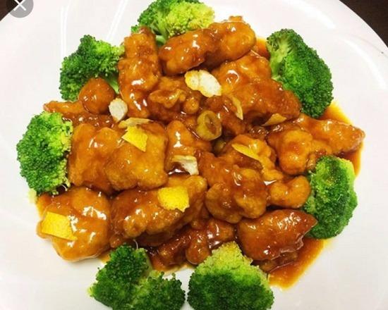 SH15. Chicken w. Orange Flavor 陈皮鸡