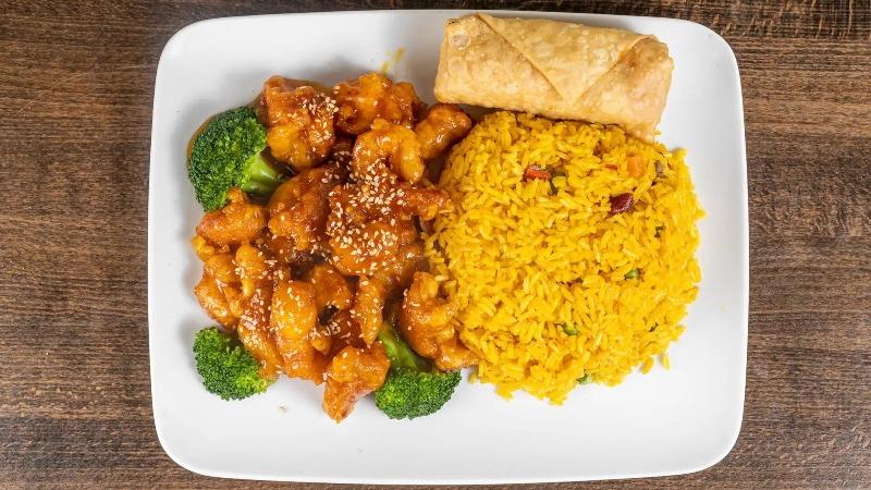 5. Sesame Chicken 芝麻鸡