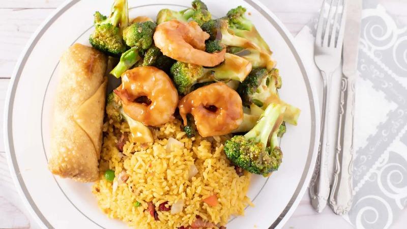 26. Shrimp w. Broccoli 芥兰虾 Image