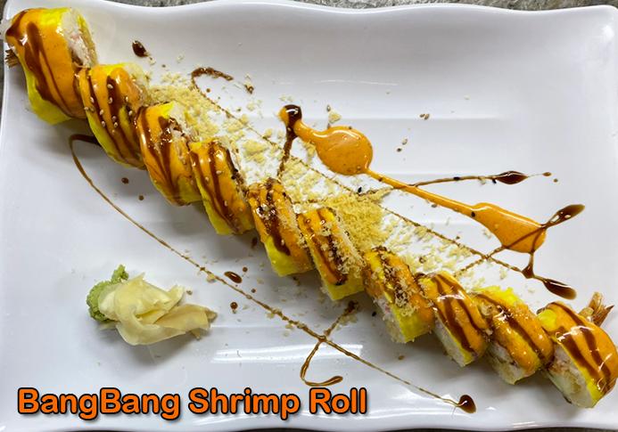 Bang Bang Shrimp Roll Image