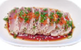 Pepper Tuna Tataki with Ponzu Sauce Image