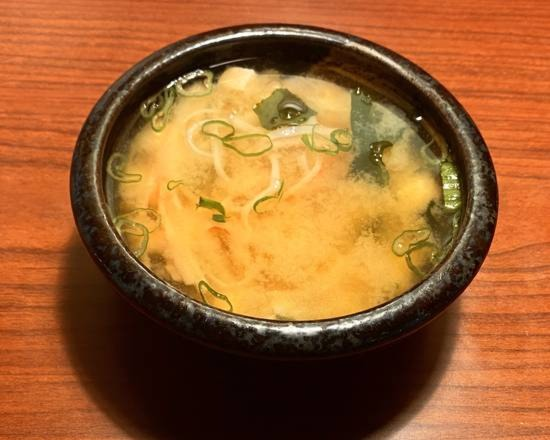 Crab Meat Miso Soup