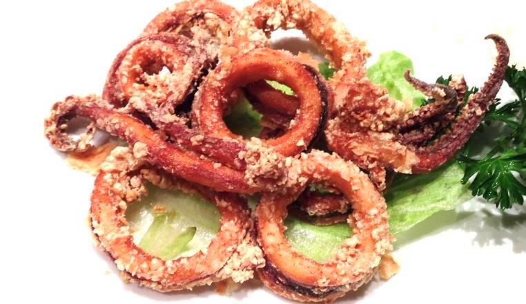 Deep Fried Squid Image