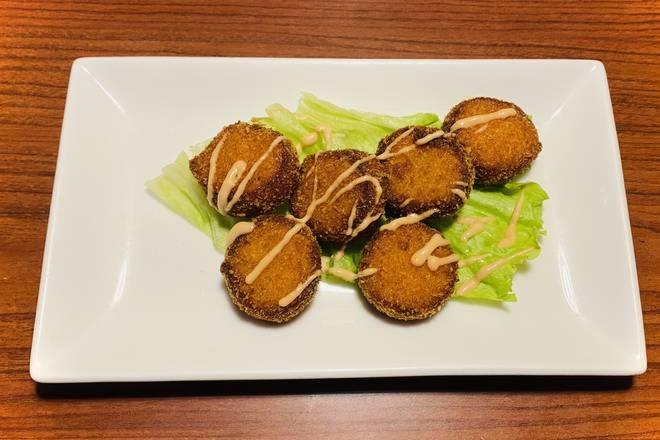 Deep Fried Osaka Cake ( imitation scallop) (6 pcs)
