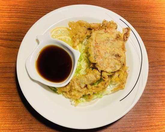 Softshell Crab with Ponzu Sauce Image