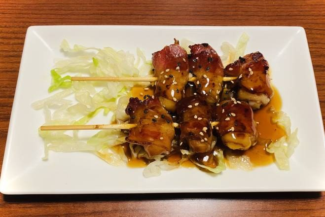 Bacon Scallop Skewers (2 pcs) Image
