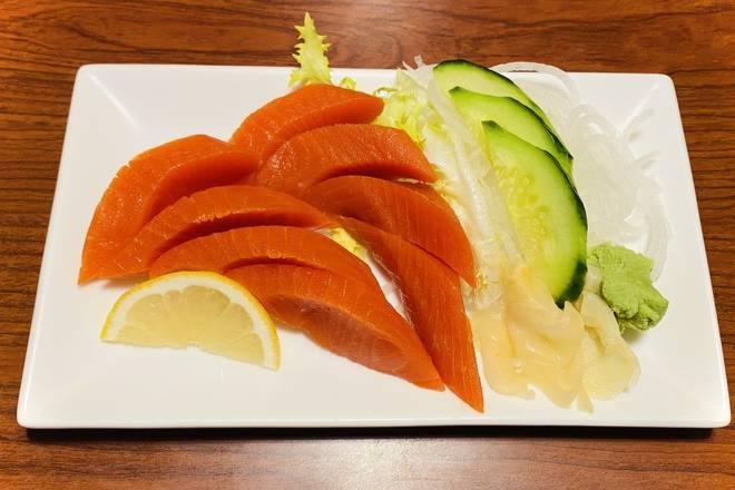 Wild Sockeye Salmon Sashimi (8 pcs)