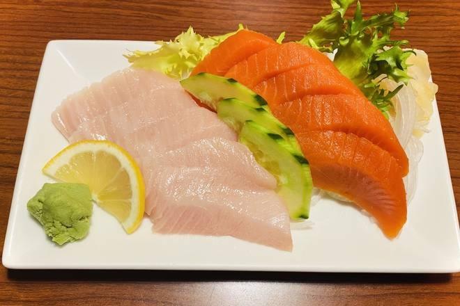 Wild Sockeye Salmon & Toro Sashimi (10 pcs)