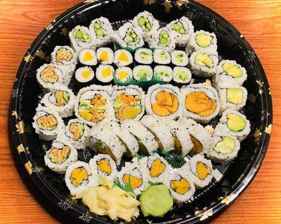 Vege Sushi Tray (48 pcs) Image