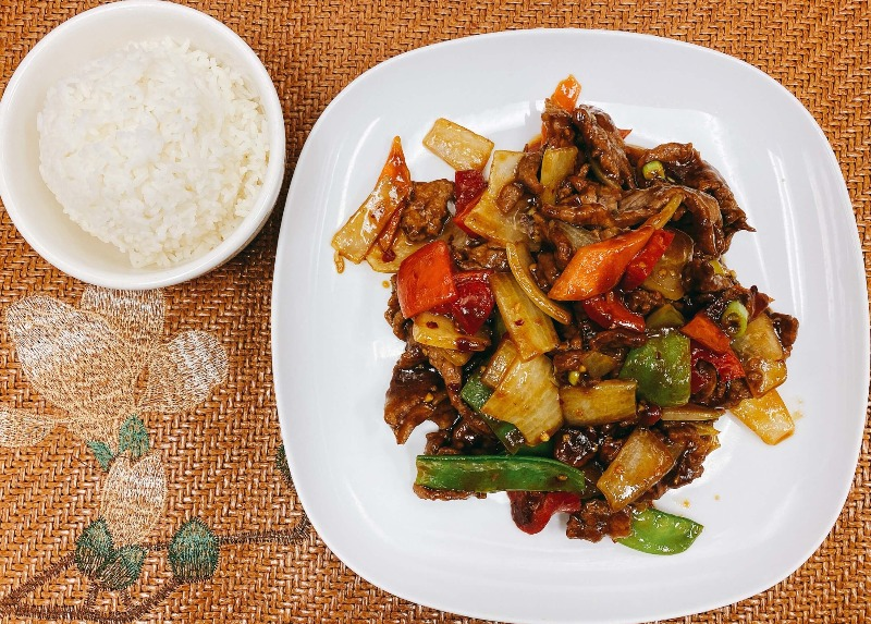 L22. Spicy Sahcha Beef Image