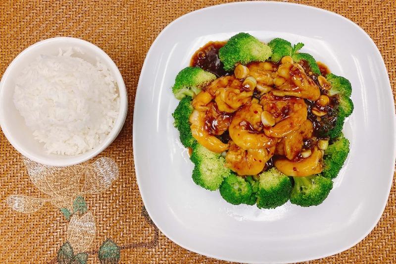 SH1. Kung Pao Shrimp (with Peanuts) Image