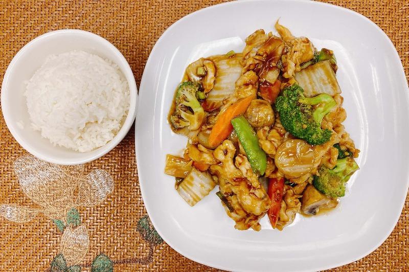 L16. Vegetable Chicken Image