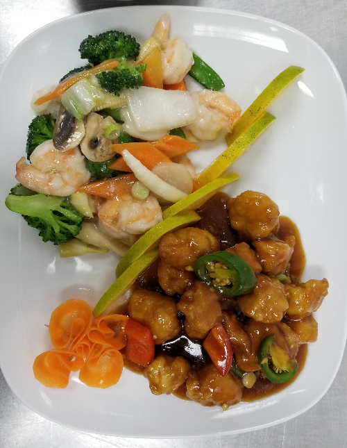 Chef's special: Dragon & Phoenix Image