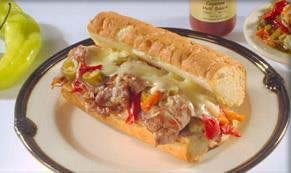 Saverio's Spicy Beef Sandwich Image