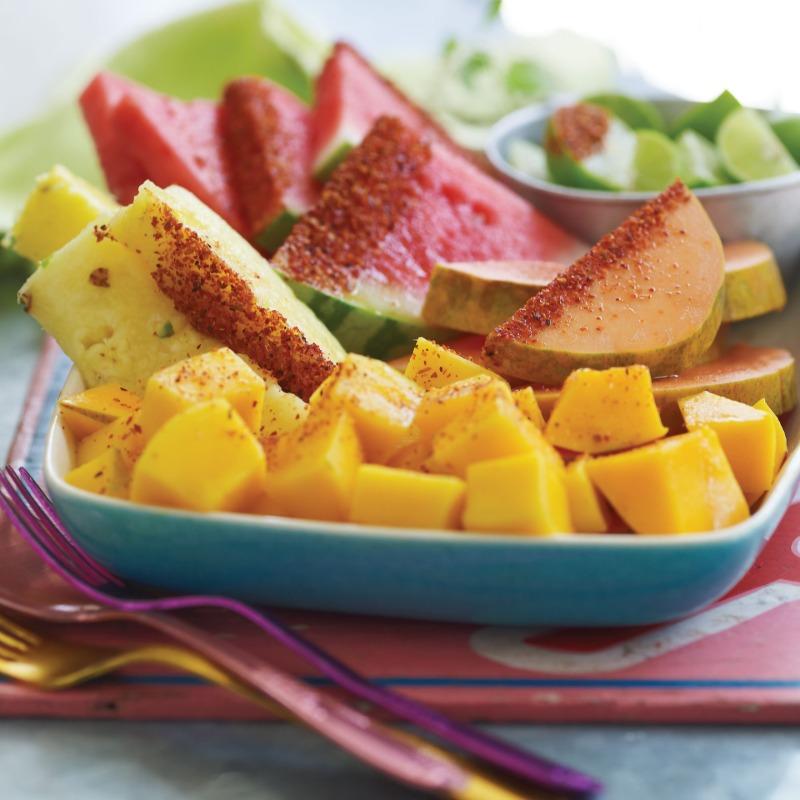 Tray of Fruit Image