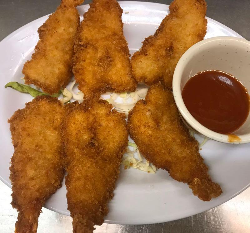 A3. Jumbo Fried Shrimp (6 pieces)