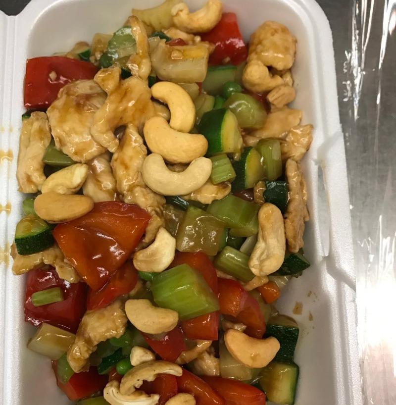 E7. Stir-Fried w/ Cashew Nuts