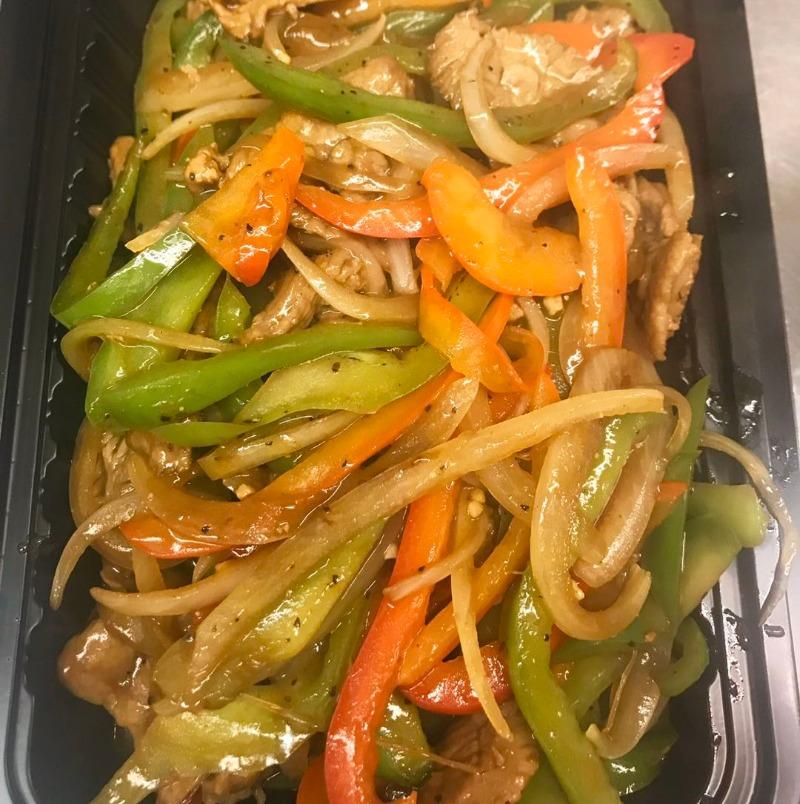 E6. Stir-Fried w /Mixed Vegetables
