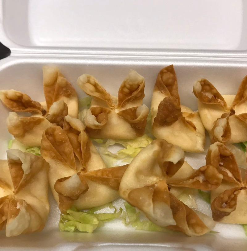 A4. Cream Cheese Wonton (6 pieces) Image