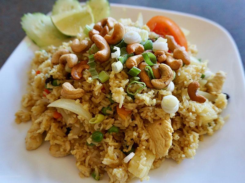 73.Pineapple Fried Rice (GF)