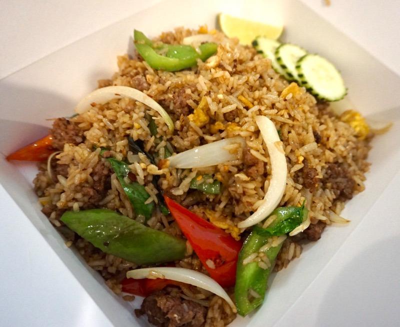 L-14 Basil Fried Rice